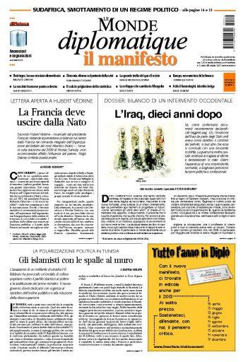Le Monde Diplomatique marzo 2013