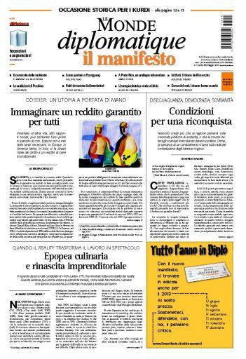 Le Monde Diplomatique maggio 2013