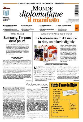 Le Monde Diplomatique luglio 2013