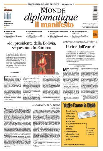 Le Monde Diplomatique agosto 2013