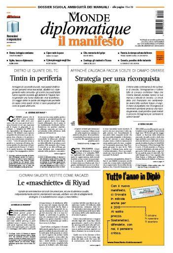 Le Monde Diplomatique settembre 2013