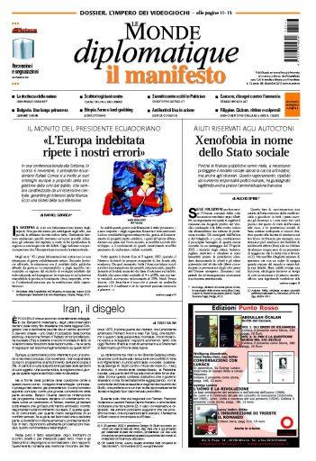 Le Monde Diplomatique Dicembre 2013