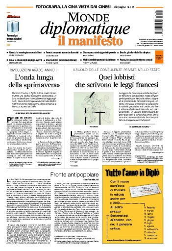 Le Monde Diplomatique gennaio 2013