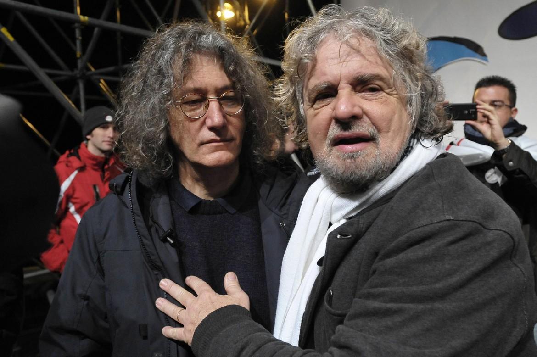 Casaleggio e Grillo