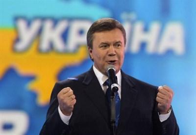 Il presidente ucraino Yanukovich