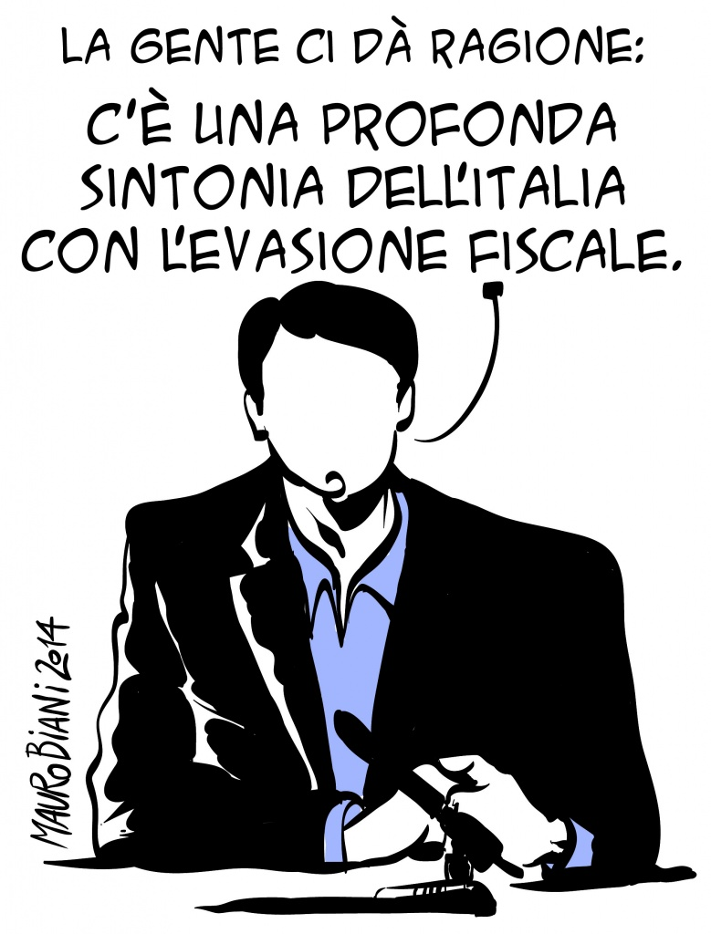 Una vignetta di Biani