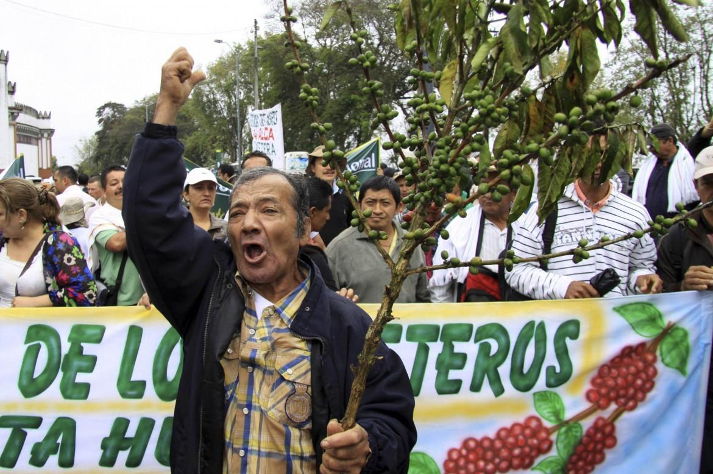 Manifestazione in Colombia