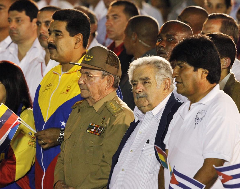 Maduro, Castro, Mujica e Morales
