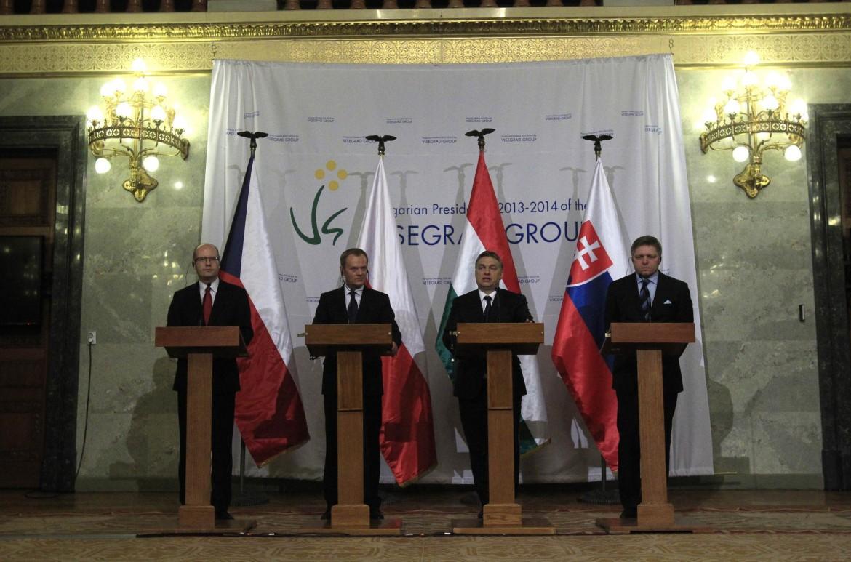 Uno dei summit del gruppo Visegrad