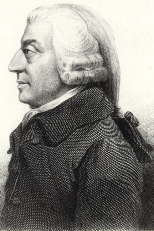 Ritratto di Adam Smith