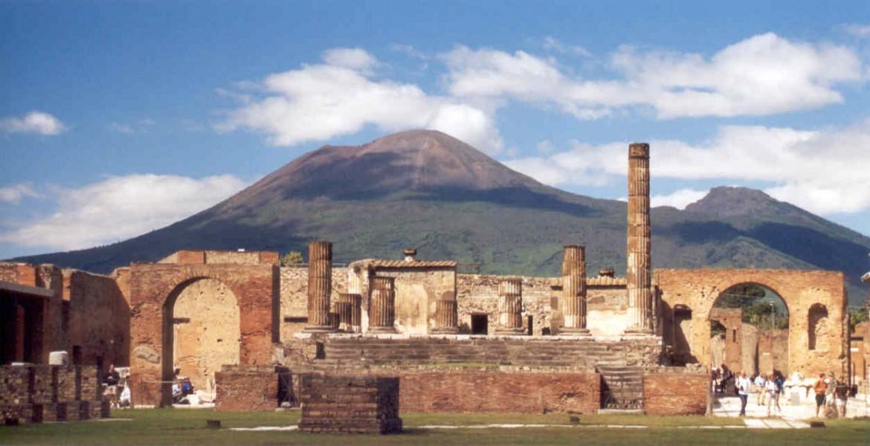 Il sito di Pompei