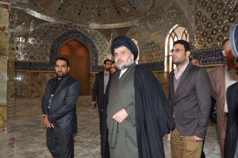Il leader religioso sciita Muqtada al Sadr
