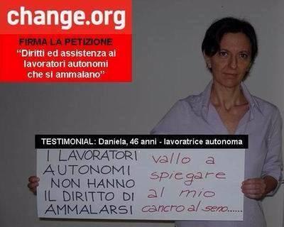 Daniela Frugosi sostiene la petizione
