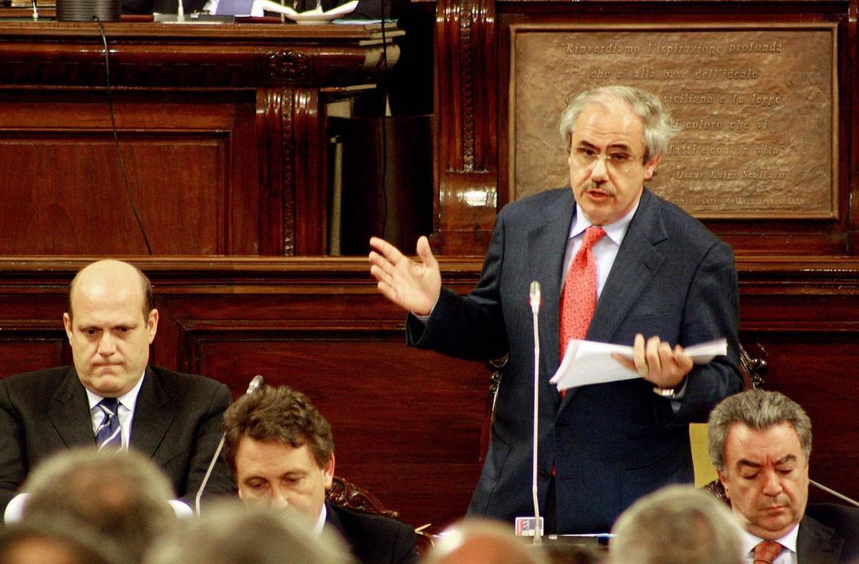 L'ex presidente della Sicilia Raffaele Lombardo