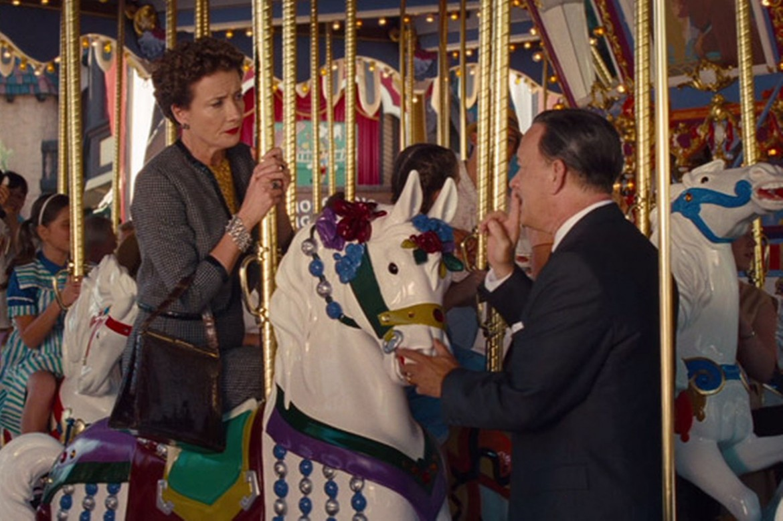 Emma Thompson e Tom Hanks nel film