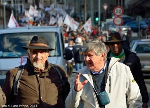 Alberto Perino ed Elisio Croce, Chiomonte, 22 febbraio 2014