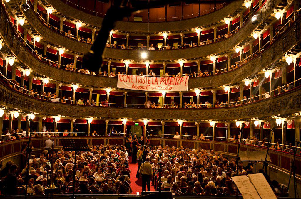 Il Teatro Valle occupato