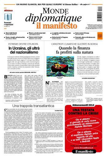 Le Monde Diplomatique marzo 2014