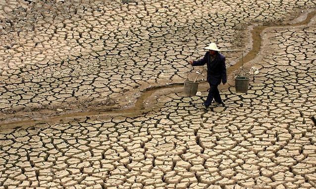 Grave siccità in Cina