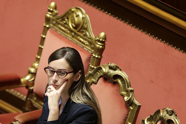 La ministra delle riforme Maria Elena Boschi
