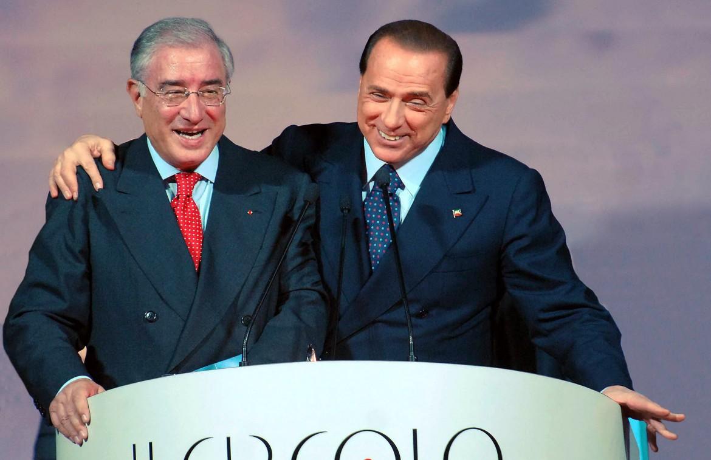Marcello Dell'Utri e Silvio Berlusconi
