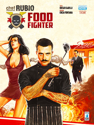 La copertina del volume, firmata da Andrea Meloni © Star Comics 2014