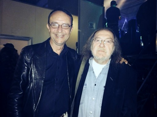 Con Claudio Lolli, Concerto per il Freak, Bologna.