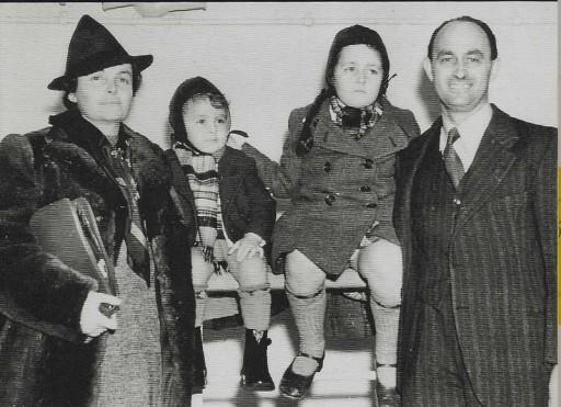 Enrico Fermi emigrante, Porto di New York, gennaio 1939