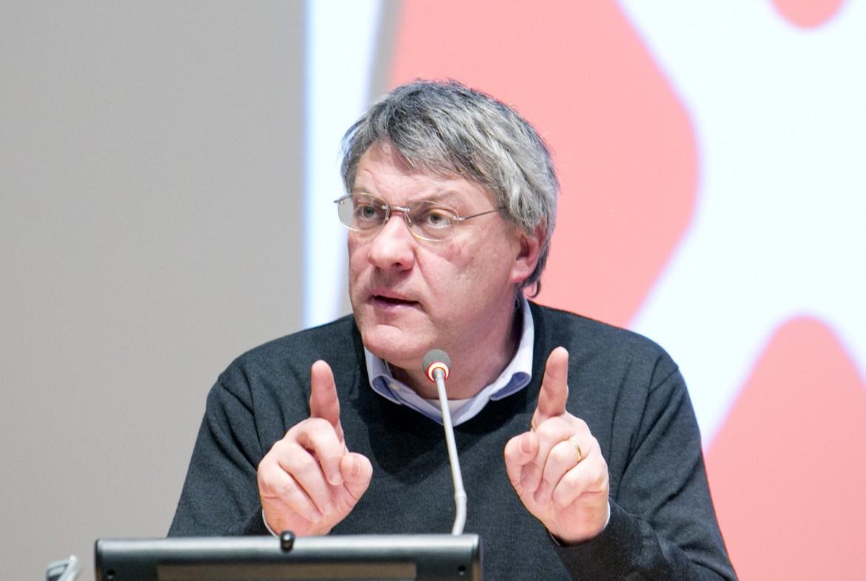 Il segretario generale della Fiom, Maurizio Landini