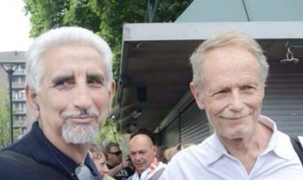 Alberto Perino con Erri de Luca