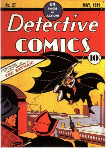 """""""Detective Comics"""" # 27 (1939) - © DC Comics"""