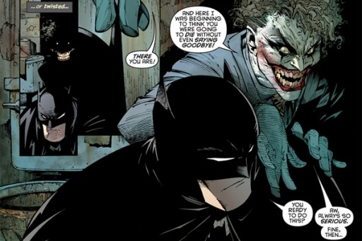Batman e Joker secondo l'artista Greg Capullo - © DC Comics, Inc.