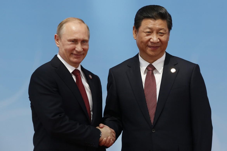 Vladimir Putin e Xi Jinping