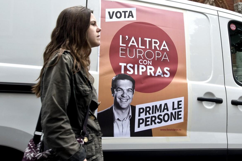 La campagna elettorale dell'Altra Europa con Tsipras