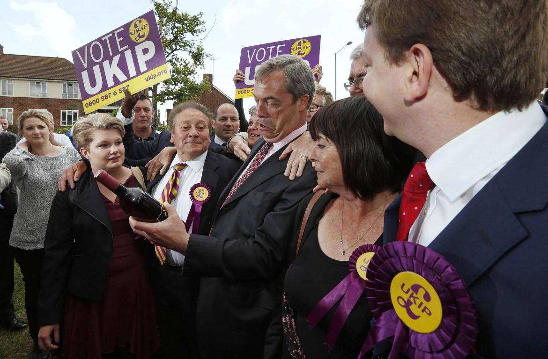 Nigel Farage già festeggia