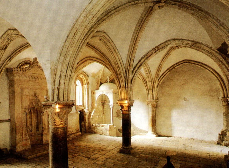 Il luogo santo dove, secondo la tradizione, si svolse l'Ultima Cena