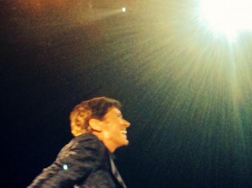 Gianni Morandi, live 2014, a Torino