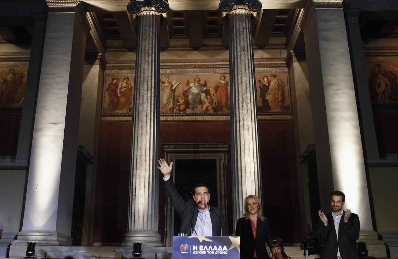 Il leader di Syriza, Alexis Tsipras