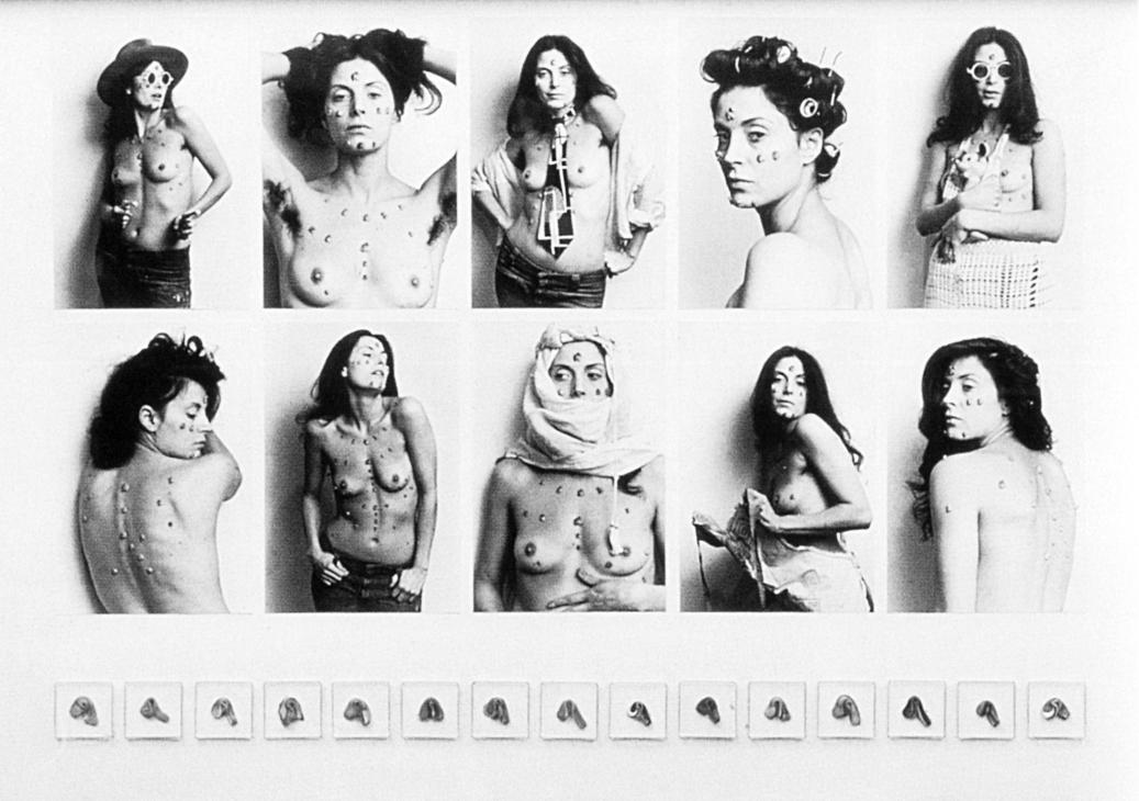 Hannah Wilke, «S.O.S. Starification Obbject Series», 1974-82