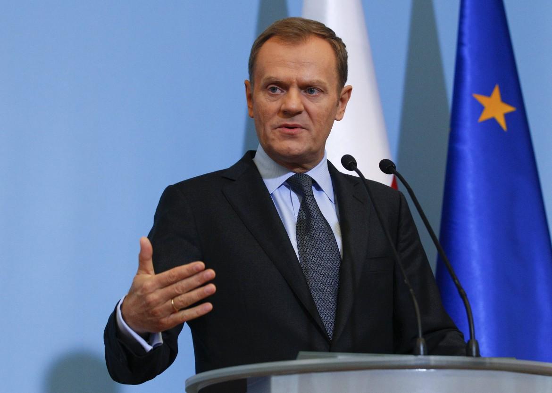 Il premier polacco Tusk