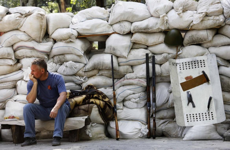 Barricate a Donetsk