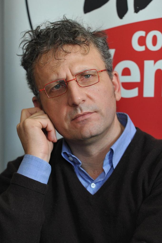 Massimiliano Smeriglio, vicepresidente della regione Lazio e responsabile organizzazione Sel