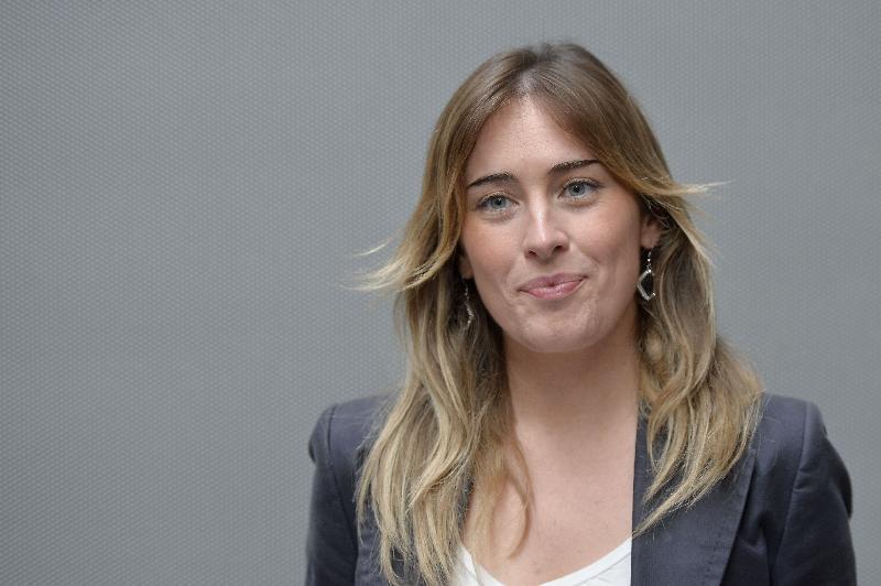 La ministra per le riforme Maria Elena Boschi