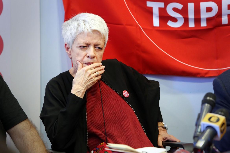 Barbara Spinelli, eletta europarlamentare con L'Altra Europa con Tsipras
