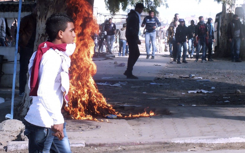 Manifestazioni a Kasserine
