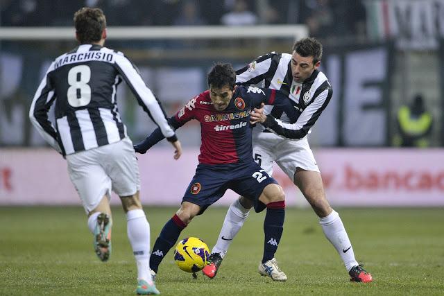Cagliari Juventus 1-4