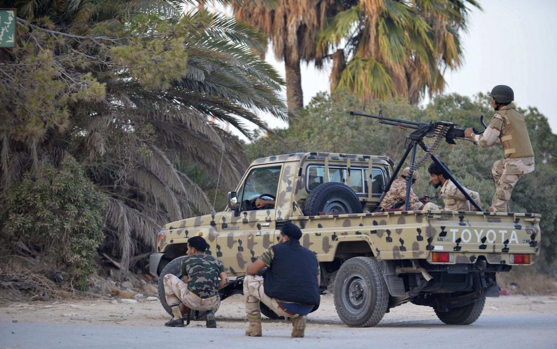 Nelle strade di Bengasi