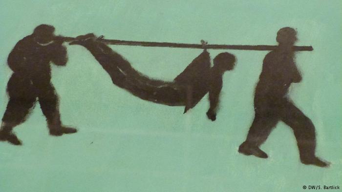 Beatriz González, «Boceto de cargueros para pictografia»