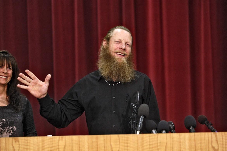 Il padre del prigioniero americano liberato in Afghanistan