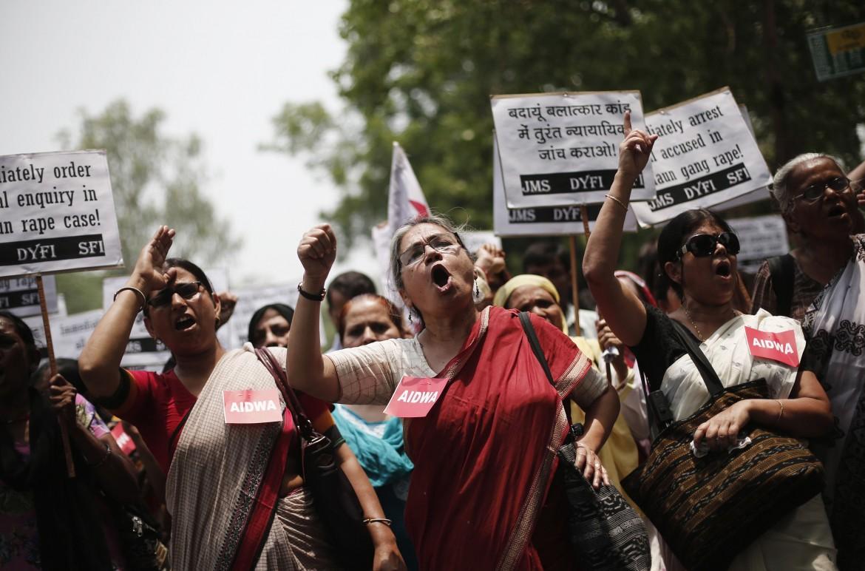 Proteste contro gli stupri in India